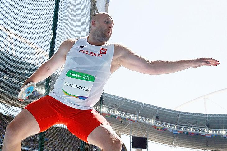 rzut dyskiem - Piotr Małachowski wywalczył srebro