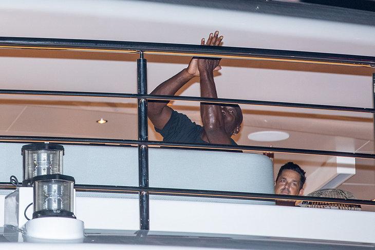 Michael Jordan spędza wakacje w Splicie