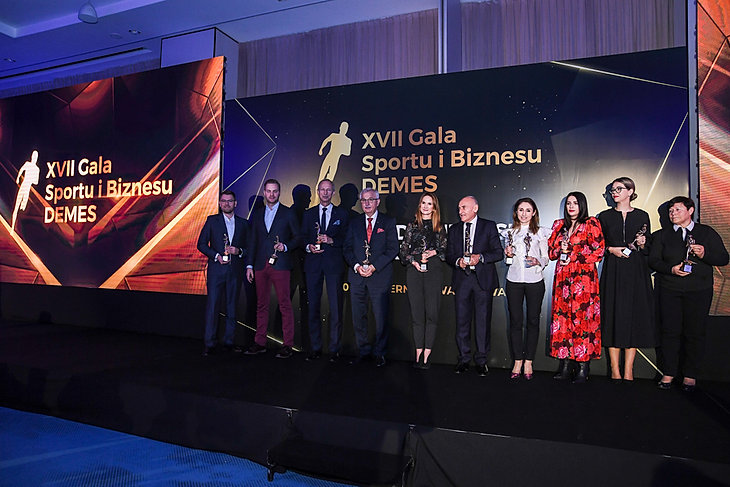 XVII Gala Sportu i Biznesu DEMES