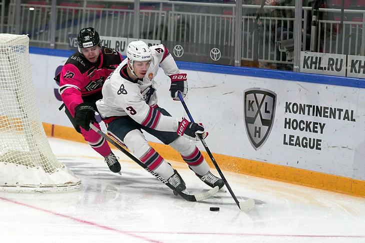 Dinamo Ryga - Nieftiechimik Niżniekamsk
