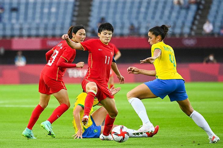 Piłka nożna kobiet: Chiny - Brazylia